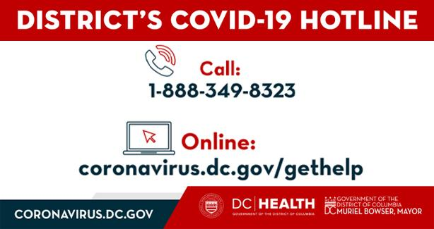 District's Covid-19 Hotline & Web Portal