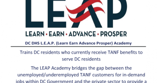 DHS LEAP Academy Training Program